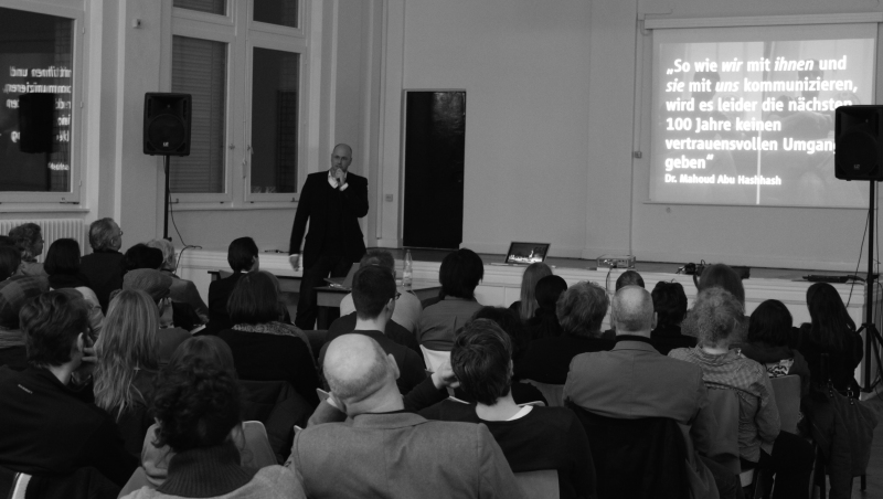 <p>In 2008 I had the opportunity to present my master's thesis to a broader audience at the Atelier Beinert in Berlin. </p>