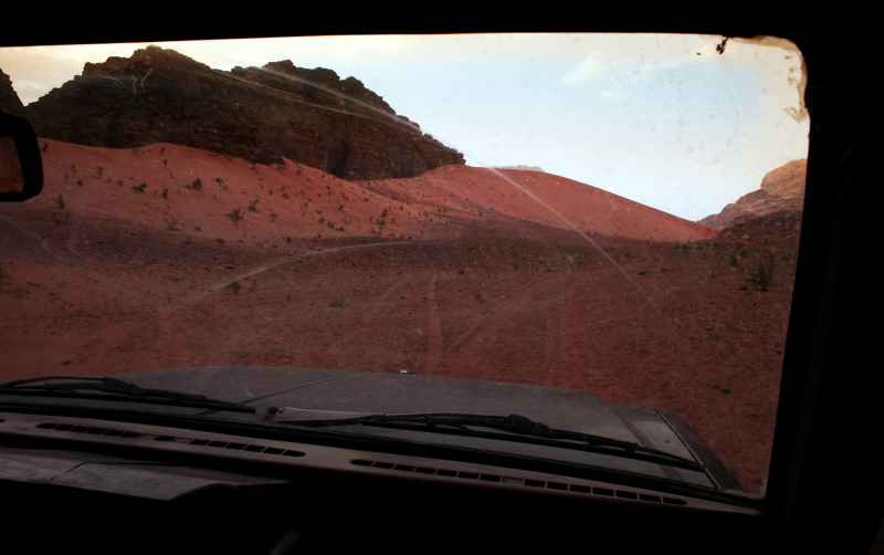 <p>Off-road is always big fun, like in the Wadi Rum, Jordan.</p>