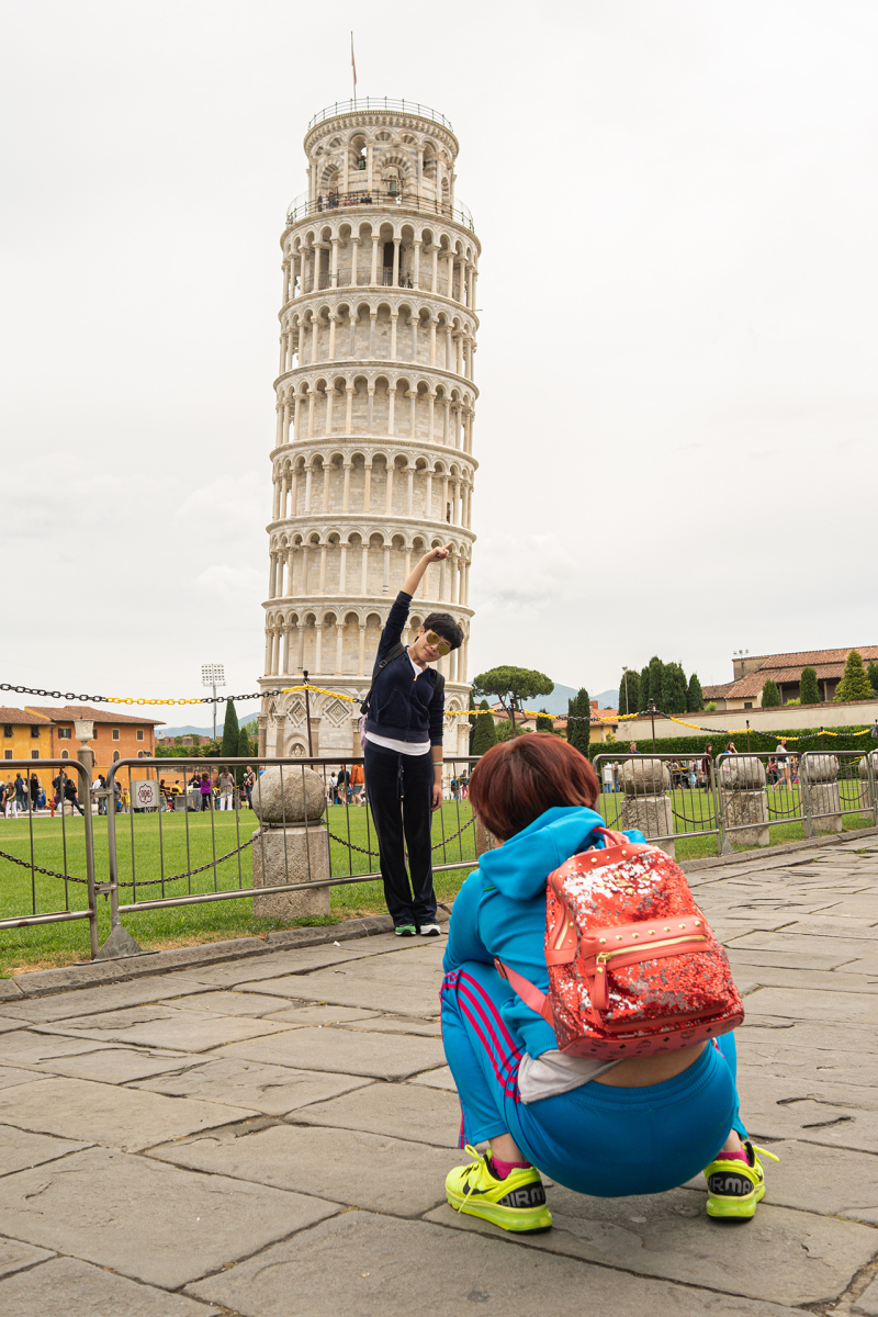 <p>Leaning Tower of Pisa, Tuscany, Italy.</p>