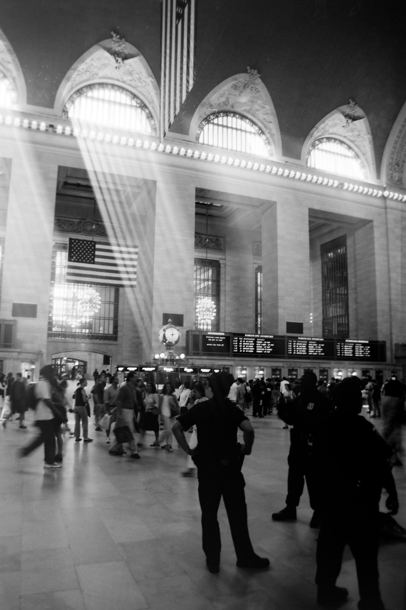<p>Grand Central Station, NYC in 2002.<br />Good old analog times with my Canon EOS 50E.</p>