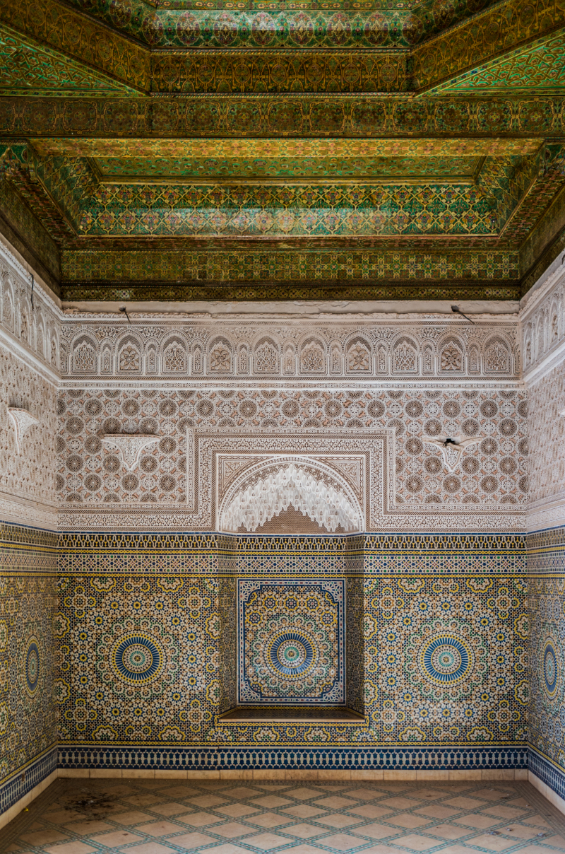 <p>Somewhere in a Kasbah in Marocco.</p>