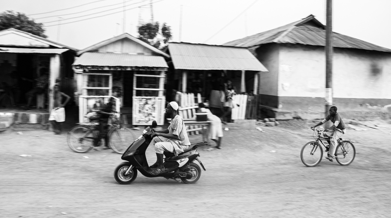 <p>A short stopover in a random village on the way to Accra, Ghana.</p>