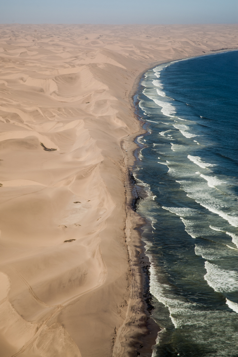 <p>Scenic flight over the Namib desert, Namibia.</p>