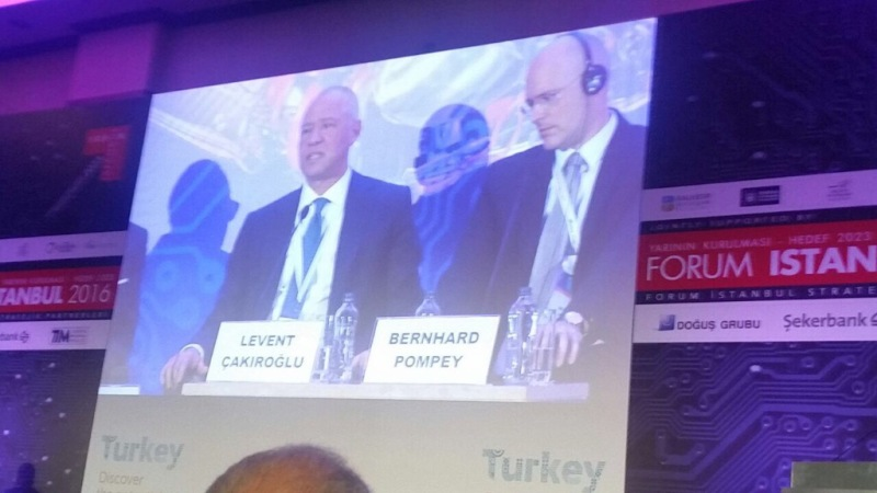 <p>2016 during a panel at Istanbul Forum, Turkey.</p>